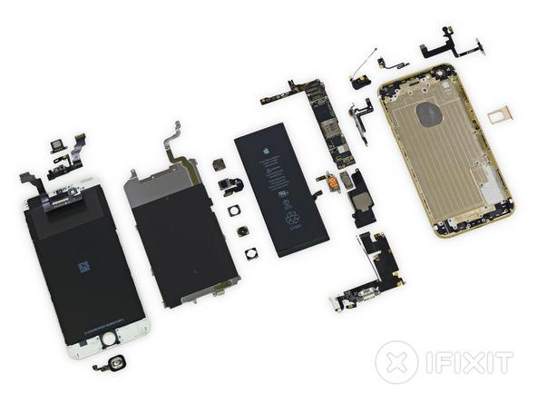 ifixit22 [immagini + Video ] iFixit: iPhone 6 Plus in tutto il suo splendore