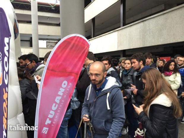 University Box Tucano politecnico bari 13 620x465 Foto: Italiamac partecipa al Tour University Box di Tucano