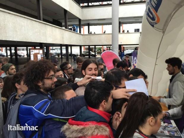 University Box Tucano politecnico bari 15 620x465 Foto: Italiamac partecipa al Tour University Box di Tucano