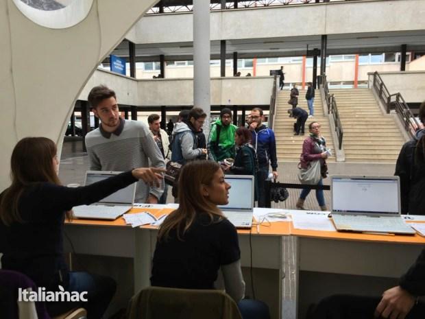 University Box Tucano politecnico bari 26 620x465 Foto: Italiamac partecipa al Tour University Box di Tucano