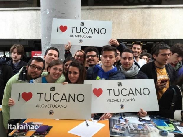 University Box Tucano politecnico bari 36 620x465 Tucano presenta la nuova collezione, Livello Up, zaino per MacBook Pro 15 e Ultrabook 15