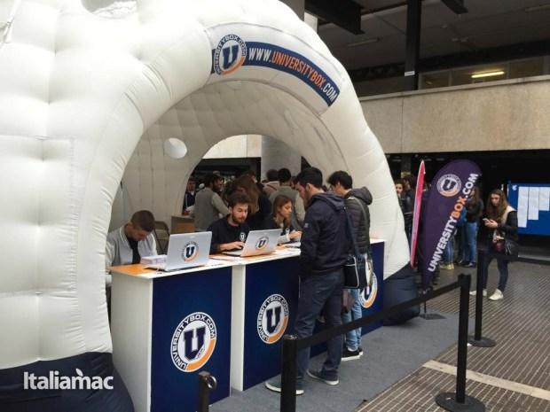 University Box Tucano politecnico bari 6 620x465 Foto: Italiamac partecipa al Tour University Box di Tucano