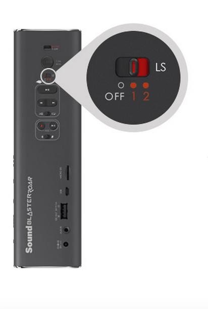 CREATIVE2 Creative Sound Blaster Roar: Speaker portatile wireless Bluetooth compatto, con NFC