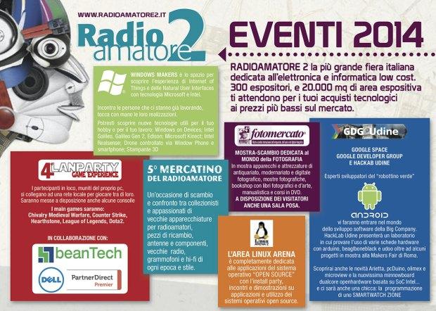 Volantino Radioamatore2 2014 620x442 Il 15 e 16 novembre a Pordenone la fiera mercato dellelettronica.