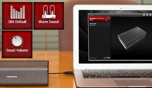 %name Creative Sound Blaster Roar: Speaker portatile wireless Bluetooth compatto, con NFC