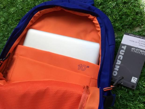tucano4 620x464 Tucano presenta la nuova collezione, Livello Up, zaino per MacBook Pro 15 e Ultrabook 15