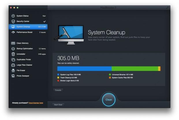 MacBooster 2 C 620x415 MacBooster 2: per pulire, velocizzare, ottimizzare e proteggere il proprio Mac