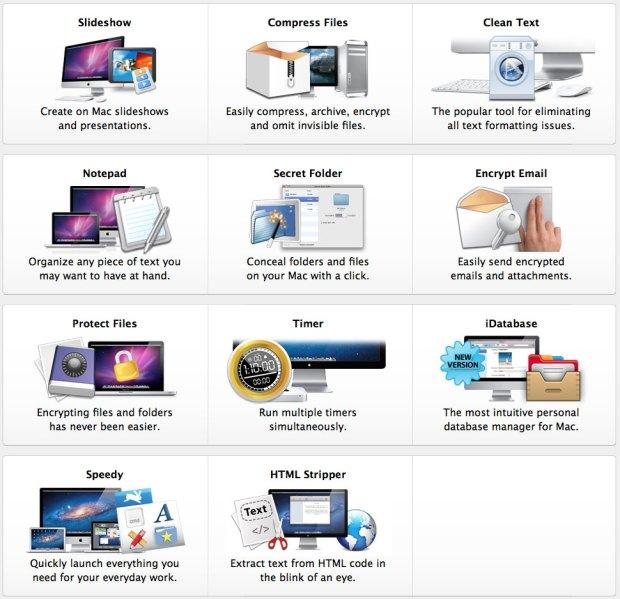 app apimac 620x599 Cyber Monday: Super sconto sulle app per Mac di Apimac