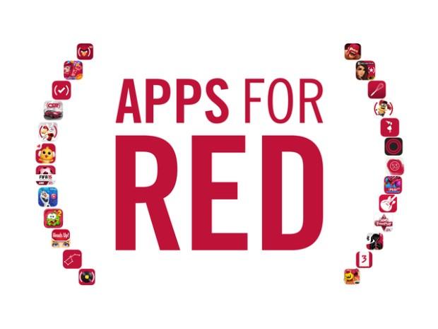 appsforRED 620x465 Tim Cook visita lApple Store di Washington insieme alla CEO di (RED) Deborah Dugan