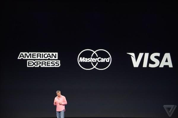 image Apple Pay cards1 Apple Pay recupera una piccola fetta di mercato per quanto concerne i pagamenti digitali tramite NFC con l1% dei pagamenti in dollari nel mese di Novembre