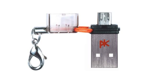 k3 s4 620x338 Recensione: K'3, la più piccola chiave USB per smartphones.