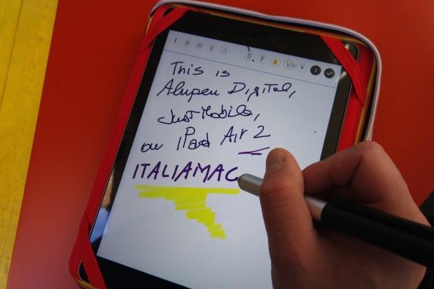 AluPen7 620x413 Just Mobile AluPen Digital: la stilo ultra fine per iPhone e iPad