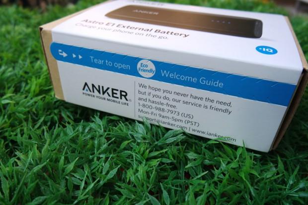 AnkerAstro1 620x413 Anker Astro E1 Batteria Esterna Tascabile da 5200 mAh con Tecnologia PowerIQ per iDevice