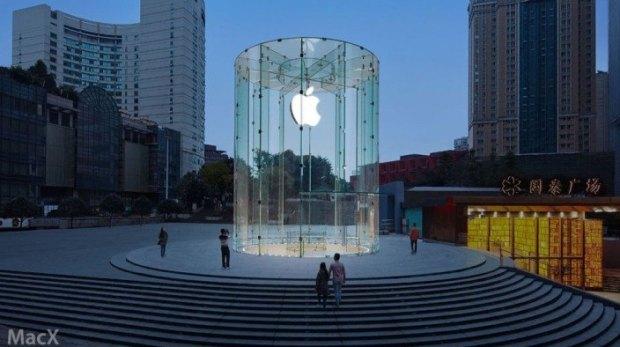 AppleStore 620x347 Apple ha svelato il nuovo Apple Store di Chongqing