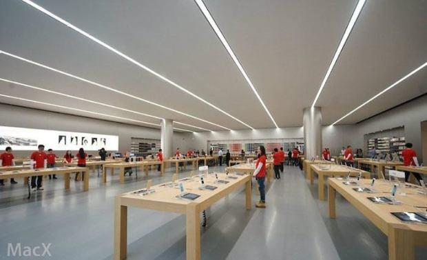 AppleStore2 620x377 Apple ha svelato il nuovo Apple Store di Chongqing