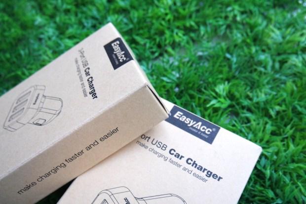 EasyAcc5 620x413 Easy Acc: Caricabtteria da Auto con 3 porte USB in grado di erogare 5.1 A di potenza