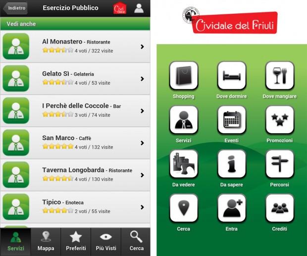 app cividale 03 620x517 La app di Cividale del Friuli per smartphone Apple e Android
