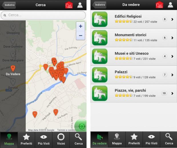 cividale app 01 620x518 La app di Cividale del Friuli per smartphone Apple e Android
