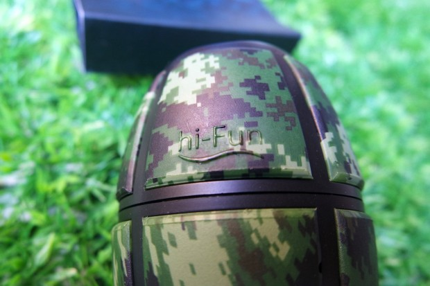 hiBomb5 620x413 hi Bomb² Bluetooth è una granata pronta a esplodere di musica!
