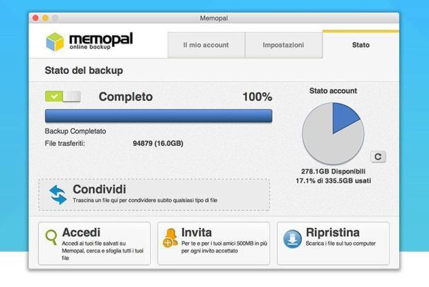 memopal 1 620x415 Nuovo Memopal Online Backup