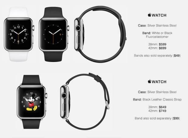 apple watch prezzi1 620x456 Prezzi Apple Watch, una fonte potrebbe averli scoperti. Leggi il listino.