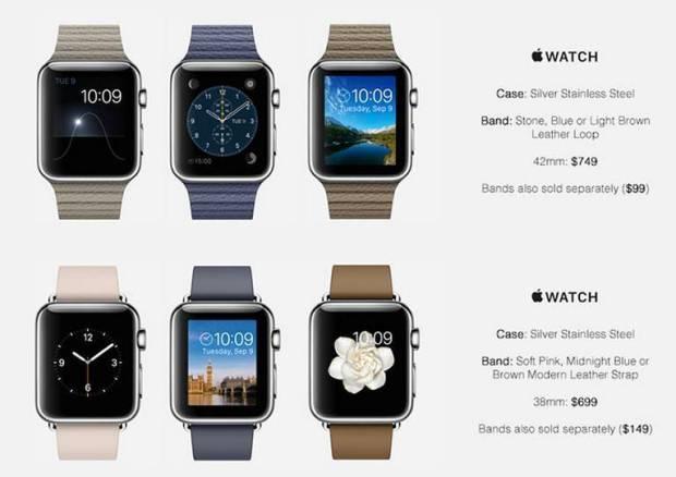 apple watch prezzi3 620x438 Prezzi Apple Watch, una fonte potrebbe averli scoperti. Leggi il listino.