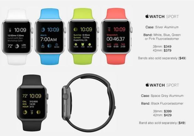 apple watch prezzi4 620x436 Prezzi Apple Watch, una fonte potrebbe averli scoperti. Leggi il listino.
