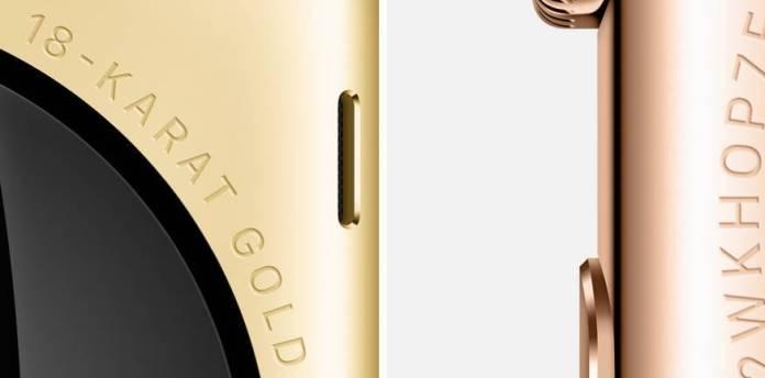 apple watch oro Apple Watch creato con cura artigianale