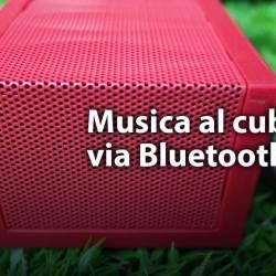 Bluediamond, provato lo speaker bluetooth