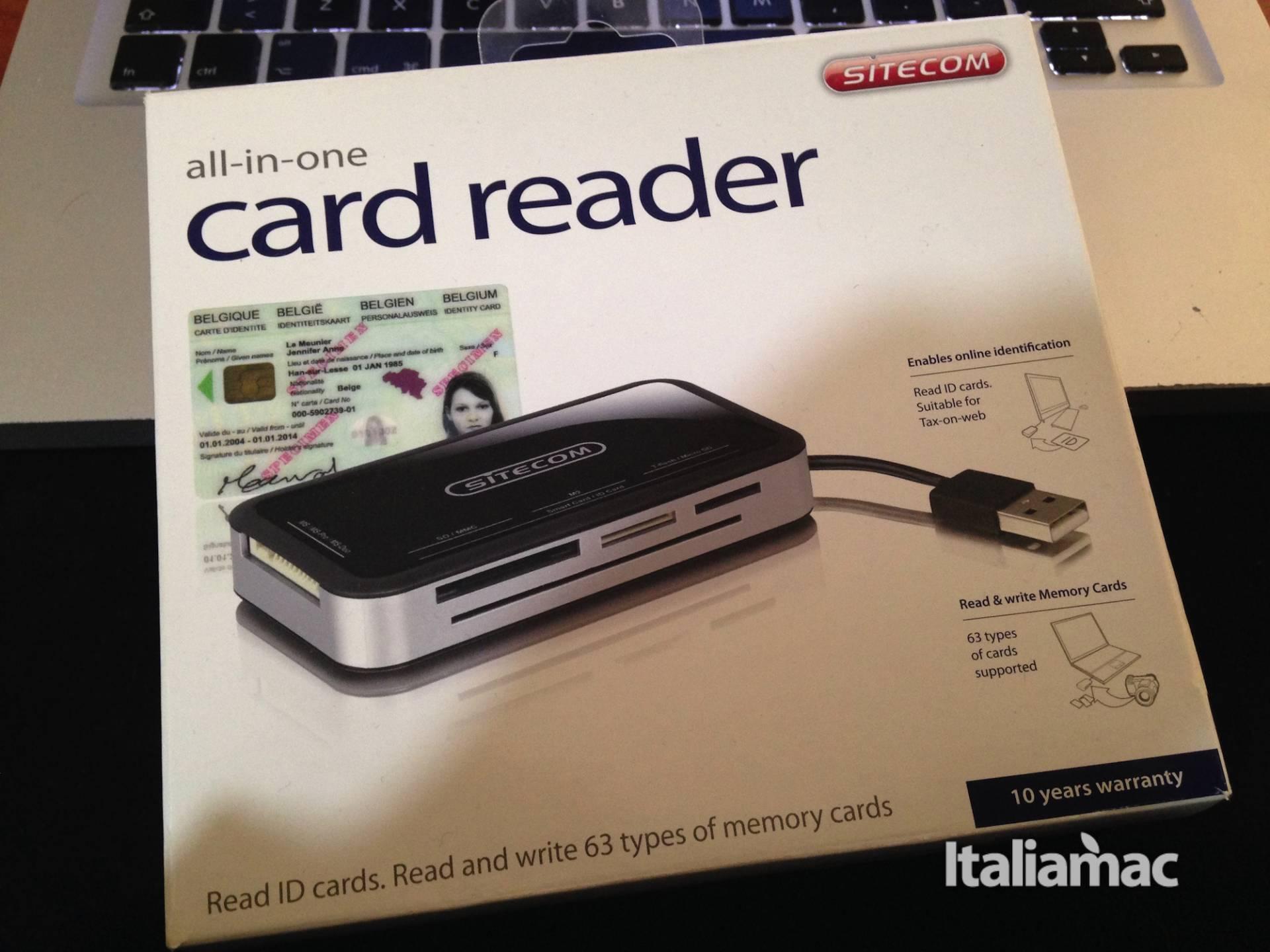 %name All in one Card Reader di Sitecom, recensione del lettore di card e documenti.