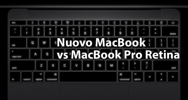 confronto nuovo macbook macbook pro retina