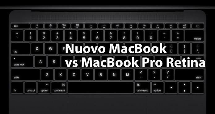 confronto nuovo macbook macbook pro retina