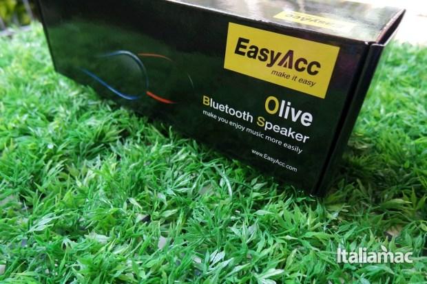 easy acc olive1 EasyAcc Olive, provato per voi lo speaker Bluetooth anche da USB