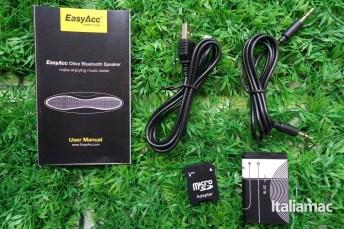 %name EasyAcc Olive, provato per voi lo speaker Bluetooth anche da USB