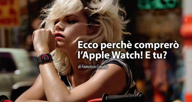 Motivi Comprare Apple Watch