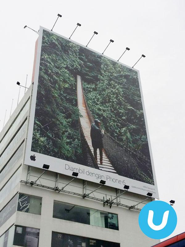 scattata con iphone 6 cartelloni Apple continua a promuovere la sua campagna Scattata con iPhone 6
