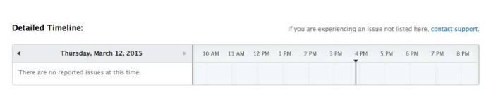 schermata 2015 03 12 alle 15.52.21 La grave interruzione dei servizi Apple di queste ore
