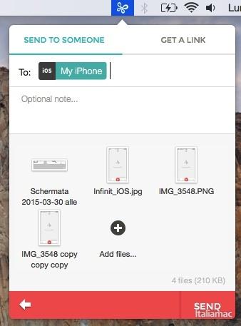 schermata 2015 03 30 alle 20.55.03 copy Infinit: il nuovo modo di condividere file ora anche su iOS