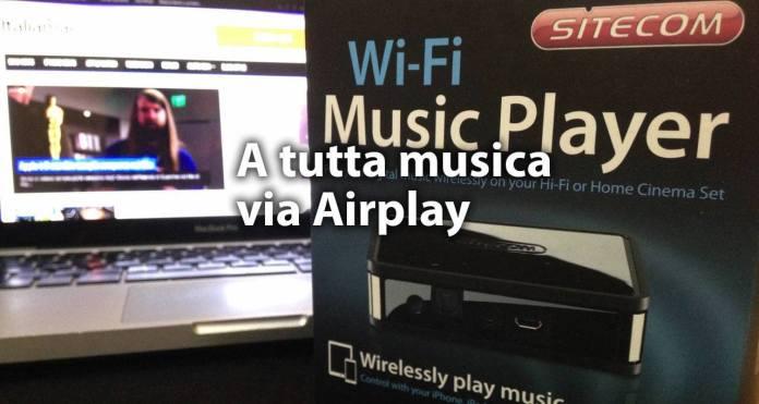 wi fi music player con tecnologia airplay Wi Fi Music Player con tecnologia Airplay