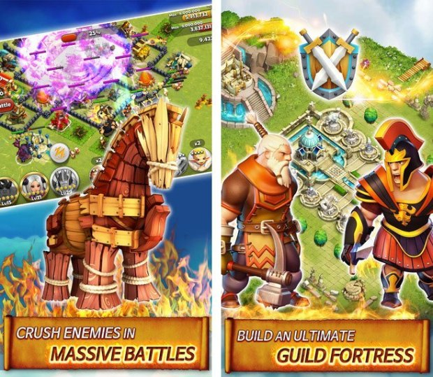 hero sky 1 620x539 Hero Sky: Epic Guild Wars, disponibile il gioco RPG per iOS e Android