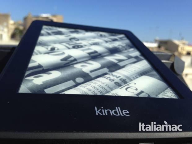 kindle paperwhite logo 620x465 Kindle Paperwhite 3G, la mia prova dell eReader Amazon
