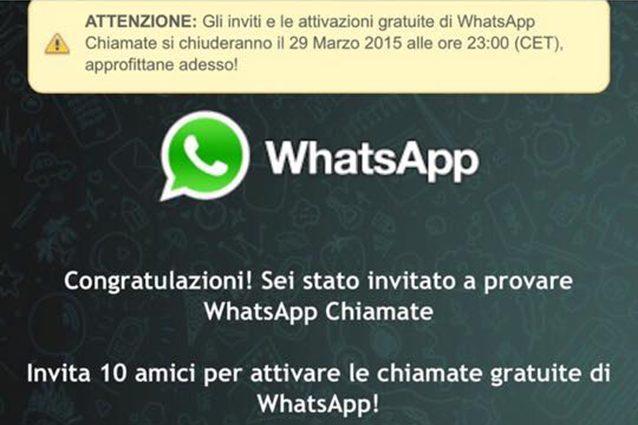 whatsapp truffa chiamate vocali WhatsApp, attenzione alla nuova truffa: falsi link per attivare le chiamate vocali