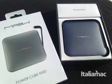 %name Power Cube 9000 di Mipow: grande la carica, piccole le dimensioni
