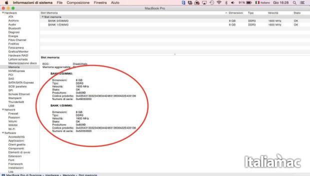 aggiungere ram macbook crucial 01 620x352 Italiamac ha installato le RAM DDR3L della Crucial su un MacBook Pro