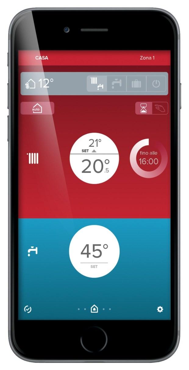 controllo a distanza 620x1215 Con Ariston NET l'impianto di riscaldamento è a portata di smartphone