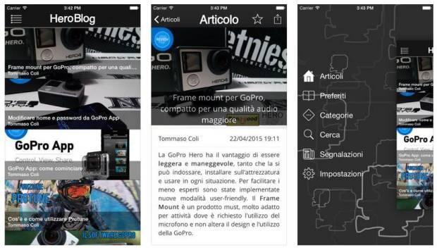 Heroblog app