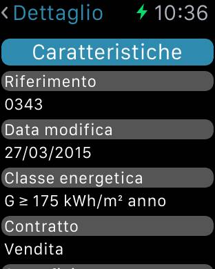 immobiliare it apple watch 04 Disponibile l'app di Immobiliare.it per Apple Watch.