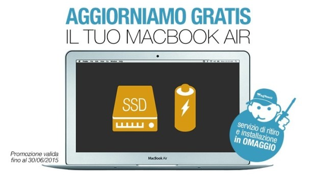 macbookair 620x348 Potenzia il tuo MacBook Air, BuyDifferent regala l'installazione fino al 30/06
