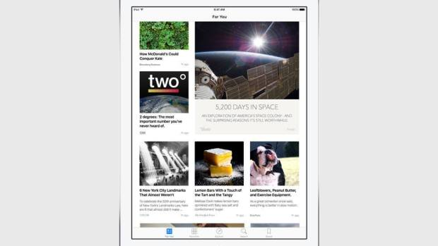 news curated selection 620x349 Apple annuncia iOS 9 al WWDC 2015
