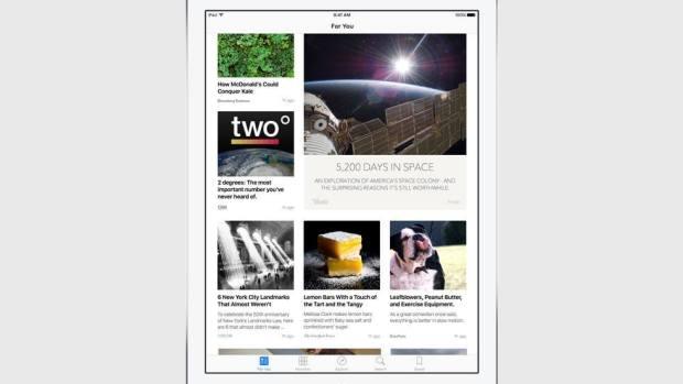 news curated selection 620x349 Apple annuncia iOS 9 al WWDC 2015